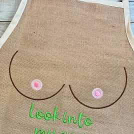 Look Into My Eyes, Embroidery Design, Digital File