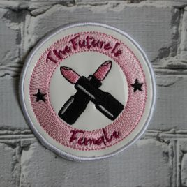 The Future Is Female, Patch, In the hoop, Embroidery Design, Digital File