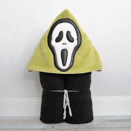Ghost Face Applique, Peeker, Embroidery Design, Digital File