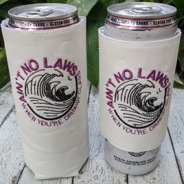 No Law White Claw, Can Wrap, 4×4 and 5×7, ITH, Embroidery Design, Digital File